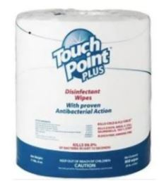TOUCHPOINT PLUS DISINFECTANT WIPES - 180...