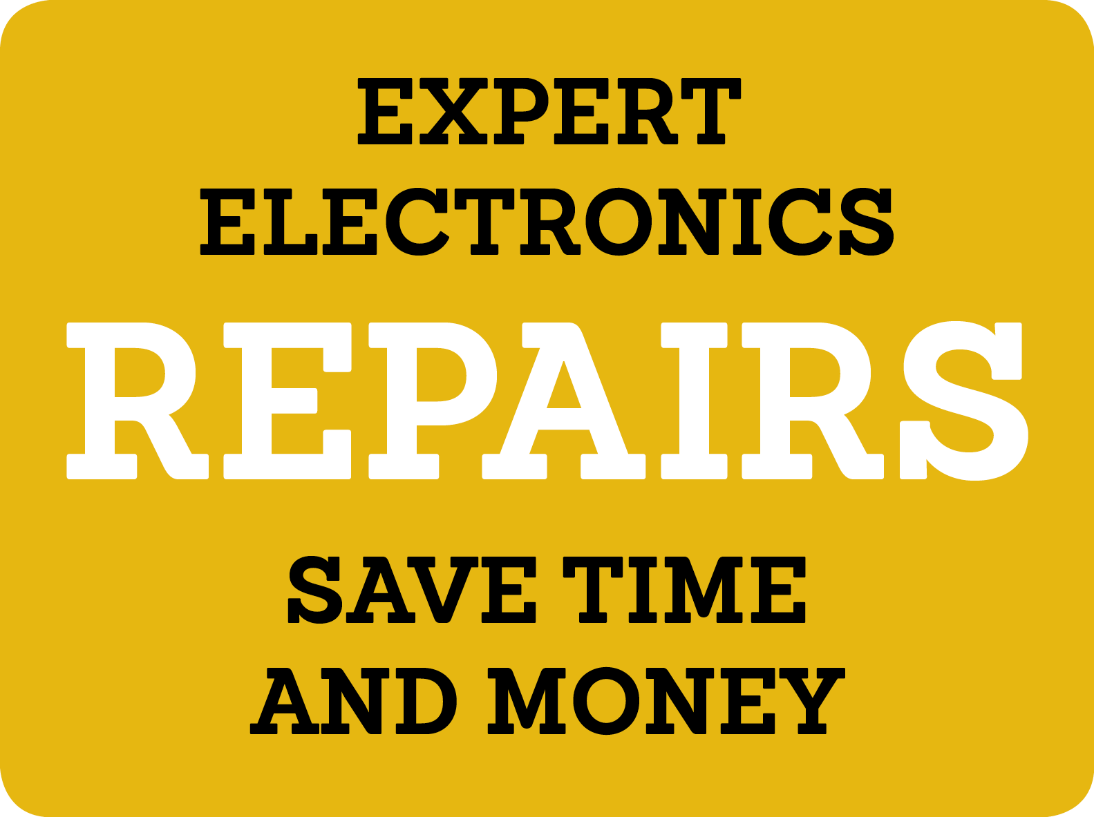 Repairs on Electronics, Monitors, TVs an...