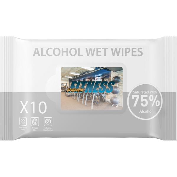 Sanitary Wipes - 10 pack